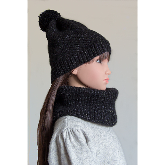 Ensemble bonnet et snood