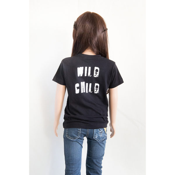 t-shirt wild child fille
