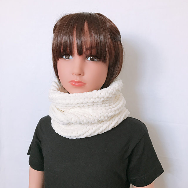 snood enfant fille tricot