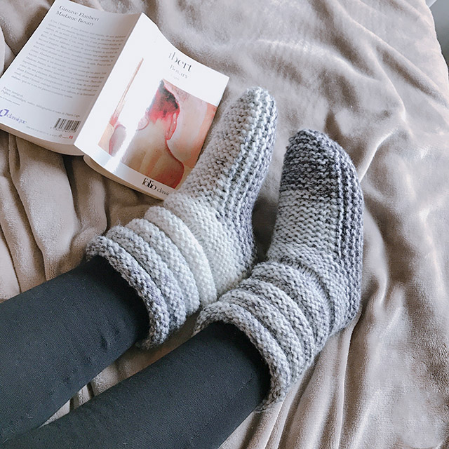 chaussons femme
